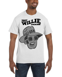 Fast Willie Jackson Men's T-Shirt - Frankie - 3C - White