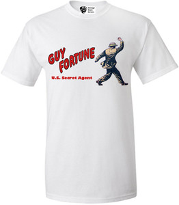 Vintage Black Heroes Men's T-Shirt - Guy Fortune - 3 - White