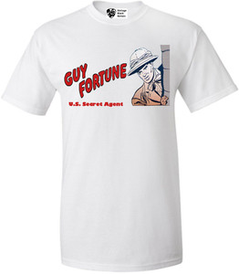 Vintage Black Heroes Men's T-Shirt - Guy Fortune - 9 - White