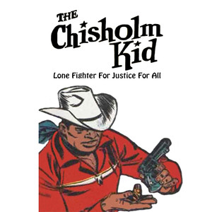 Vintage Black Heroes Magnet - The Chisholm Kid - 5