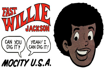 Fast Willie Jackson Sticker Sheet - 1