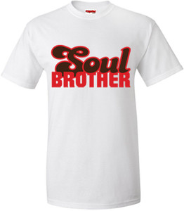 SuperBad Soulware Men's T-Shirt - Soul Brother - White