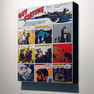 Vintage Black Heroes 32x24 Canvas - Guy Fortune - 16
