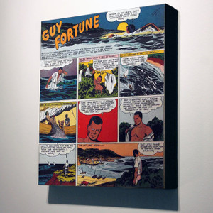Vintage Black Heroes 32x24 Canvas - Guy Fortune - 3