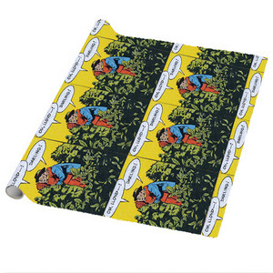Afrotopia Wrapping Paper Sheets - Vintage Romance 5 - Package Of 5