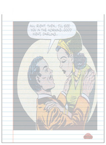 Afrotopia Notepad - Vintage Romance 12