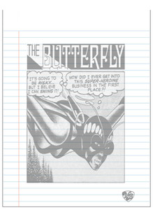 Vintage Black Heroines Notepad - The Butterfly - 3