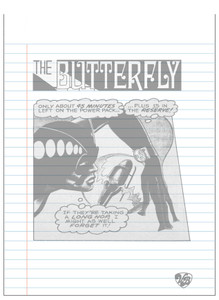 Vintage Black Heroines Notepad - The Butterfly - 6