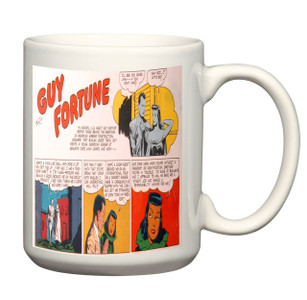 Vintage Black Heroes Mug - Guy Fortune - CST4