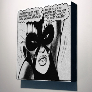 Vintage Black Heroines 10x8 Canvas - The Butterfly - 4