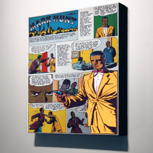 Vintage Black Heroes 32x24 Canvas - Mark Hunt - 9B