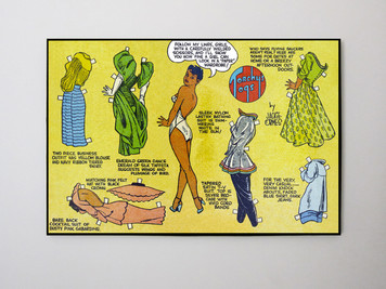 Vintage Black Heroines 24x32 Canvas - Torchy Togs - 5