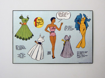 Vintage Black Heroines 20x24 Canvas - Torchy Togs - 6