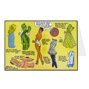 Vintage Black Heroines Greeting Cards - Torchy Togs - 5 - Package Of 10