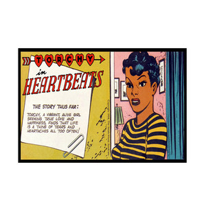 Vintage Black Heroines Notecards - Torchy In Heartbeats - 3A - Package Of 10