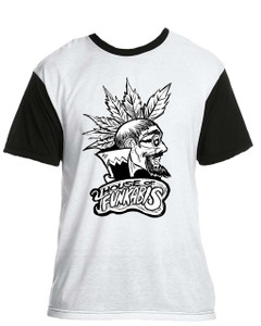 House Of Funkabis T-Shirt - Black And White - M2