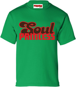 SuperBad Soulware Girls T-Shirt - Soul Princess - Irish Green - RBR