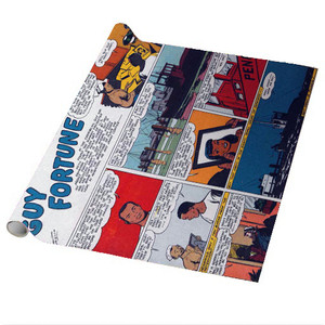 Vintage Black Heroes Wrapping Paper Sheets - Guy Fortune - CS10 - Package Of 5