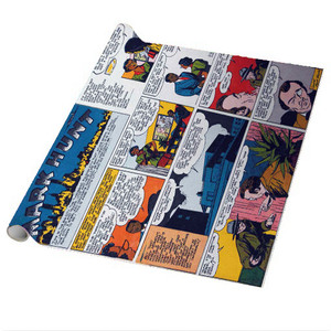 Vintage Black Heroes Wrapping Paper Sheets - Mark Hunt - CST2 - Package Of 5