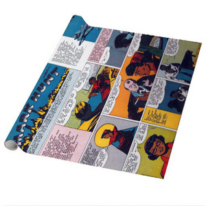 Vintage Black Heroes Wrapping Paper Sheets - Mark Hunt - CST6 - Package Of 5
