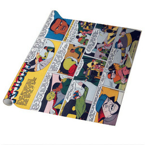 Vintage Black Heroes Wrapping Paper Sheets - Neil Knight - CST5 - Package Of 5