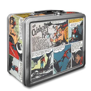 Vintage Black Heroes Lunchbox - The Chisholm Kid - CST1