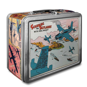 Vintage Black Heroes Lunchbox - Neil Knight - CST1