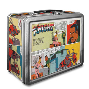 Vintage Black Heroes Lunchbox - Neil Knight - CST2