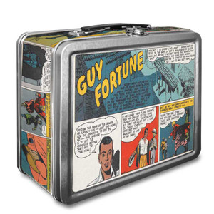 Vintage Black Heroes Lunchbox - Guy Fortune - CST11