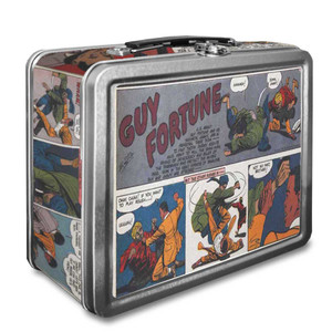 Vintage Black Heroes Lunchbox - Guy Fortune - CST2