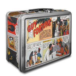 Vintage Black Heroes Lunchbox - Guy Fortune - CST9