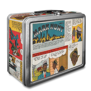 Vintage Black Heroes Lunchbox - Mark Hunt - CST4
