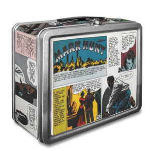 Vintage Black Heroes Lunchbox - Mark Hunt - CST5