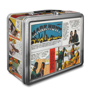 Vintage Black Heroes Lunchbox - Mark Hunt - CST3