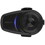 SENA 10S Motorcycle Bluetooth Intercom Communication System Single Kit