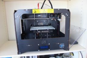 Example shot of the MADMAT V1.0 Dual Extruder 3D Printer. Note that not every model will be the same