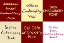 BX Fonts - 20 Embrilliance fonts 4
