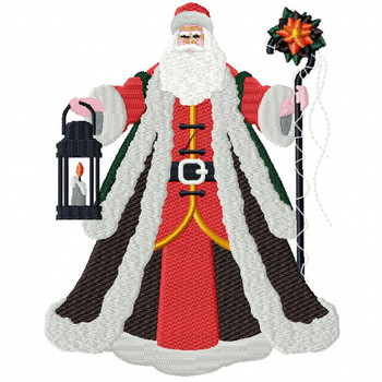 Santa Claus - Christmas Character #05 Machine Embroidery Design