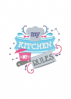 Cooking Sayings - Hobby Collection of 6 Machine Embroidery Designs