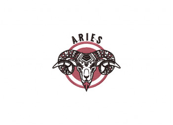Aries Machine Embroidery Design