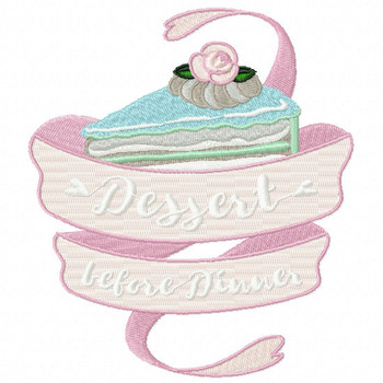 Dessert Before Dinner - Baking Hobby Collection #01 - Machine Embroidery Design