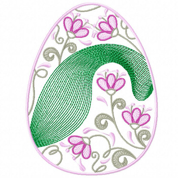 Easter Egg Collection #06 Machine Embroidery Design