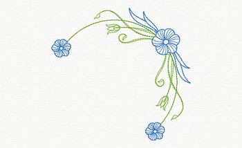 Beautiful Butterfly and Floral #09 Machine Embroidery Designs