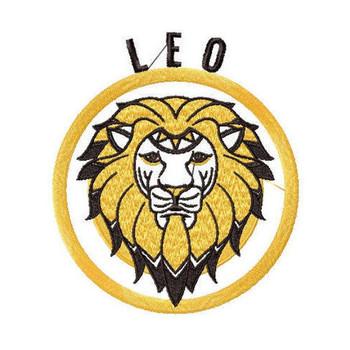 Leo - Zodiac Collection #05 Machine Embroidery Design