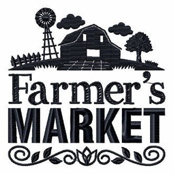 Farmer's Market - Shopping Totes Collection #8 Machine Embroidery Design