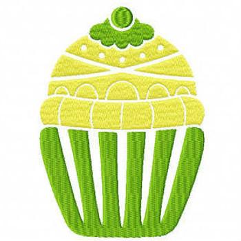 Cupcake #02 Machine Embroidery Designs