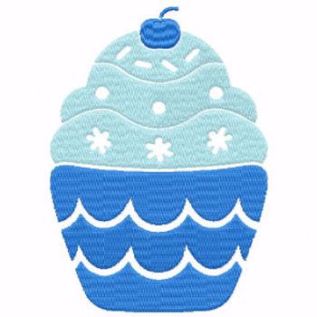 Cupcake #07 Machine Embroidery Designs