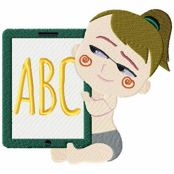 ABC Baby - Baby Techie Collection #6 Machine Embroidery Design