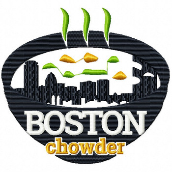 Boston Chowder - City Collection #01 Machine Embroidery Design