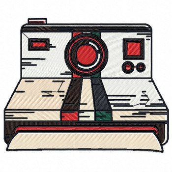 Vintage Camera - Antique Collection #13 Machine Embroidery Design